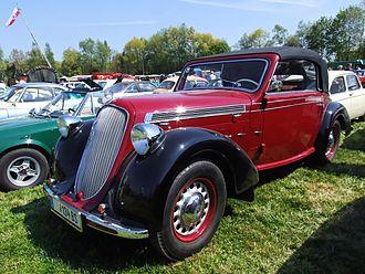 Steyr automobile - 1939 Steyr 220
