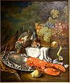 Still life with Lobster by Bernaert de Bridt, 1675-1700 - Museum M - Leuven, Belgium - DSC05496.JPG