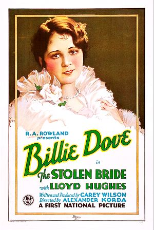 The Stolen Bride (1927 film) - Film poster