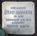 Stolperstein Argentinische Allee 4 (Zehld) Bruno Mannheim.jpg