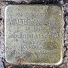 Stolperstein Eichborndamm 84 (Reind) Walter Antonius.jpg