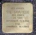 Stolperstein Rungestr 16 (Mitte) Sol Savariego.jpg
