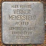 Stolperstein Werner Meyerstein Jena 2014.jpg
