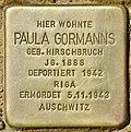 Stolperstein für Paula Gormanns (Potsdam).jpg