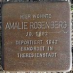 Stolpersteine Bremerhaven – Amalie Rosenberg.JPG