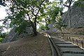 Stone wall of Marugame Castle 04.jpg