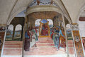 Storie di s. benedetto, 02 sodoma - Come Benedetto abbandona la scuola di roma 01.JPG