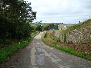 Stowe, Kilkhampton - Stowe Barton Farm