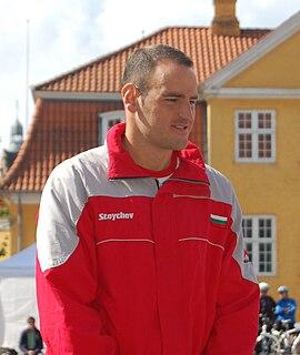 Petar Stoychev swimmer