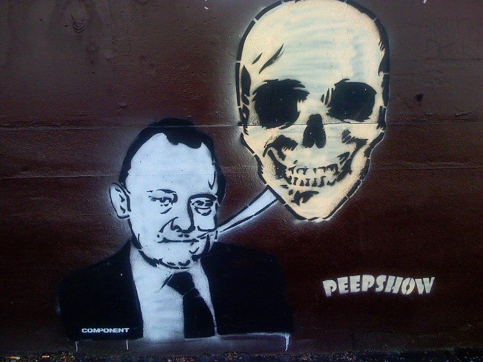 Street graffiti of Muldoon