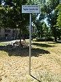 Street sign, Vajda square, 2017 Ferencváros.jpg