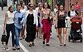 Strollers along Pedestrian Mall - Kaunas - Lithuania (27907669906) (2).jpg