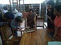 Students check out old books at the Goa University rare books section (8a).jpg