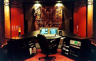 York Street Studio - Mastering Room at Studio 2
