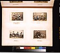 Studio portraits of Japanese people picnicing and eating, officers fencing, and women playing a shamisen and a koto LCCN2011649881.jpg