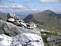 Summit cairn, Am Bathaich - geograph.org.uk - 187538.jpg