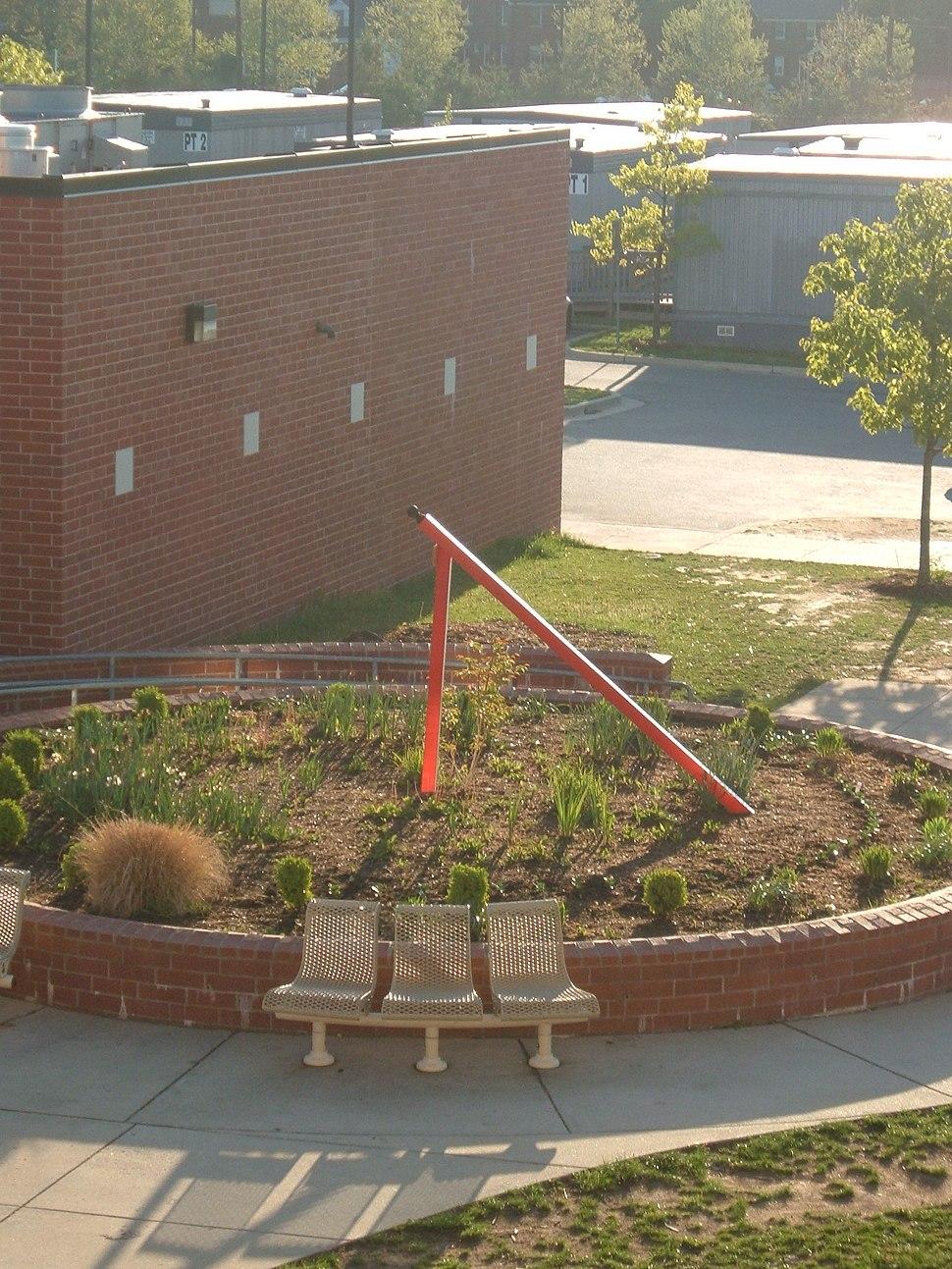 Sundial, Montgomery Blair High School