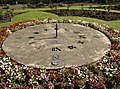 Sundial in public garden, Granny Hall Lane, Brighouse - geograph.org.uk - 461126.jpg
