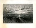 Sunset after the Storm engraved by William Miller after Francis Danby, proof before letters 1849.jpg