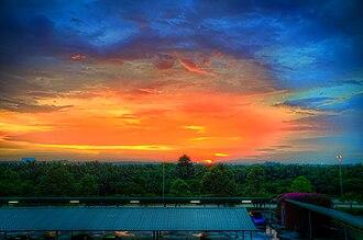 Cyberjaya - Sunset over Cyberjaya (2010)