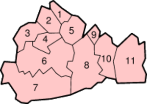 Surrey Wildlife Trust - Surrey districts