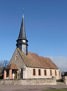 Suzay Commune in Normandy, France