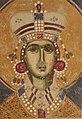 Sveta Varvara, detalj freske iz Bogorodice Ljeviške, XIV vek.jpg