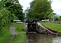 Swanley Lock No 1 near Burland, Cheshire - geograph.org.uk - 1706769.jpg