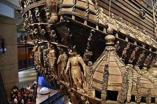 Swedish warship Vasa, sank 1628, Vasamuseet, Stockholm (38) (36225031446)