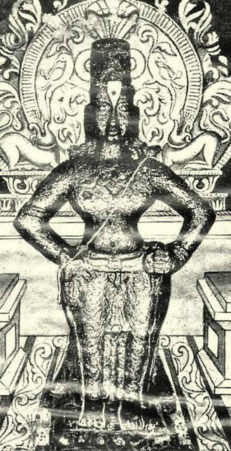 Abhang - A picture of the Syambhu Vithoba idol at the Pandharpur Temple