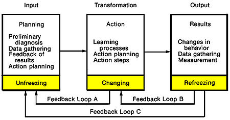 Figure 1: Systems Model of Action-Research Process