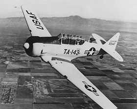 Un T-6 Texan en vol