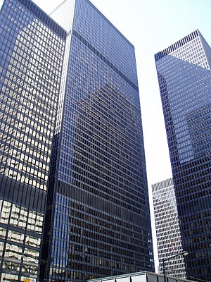 Economy of Canada - The Toronto-Dominion Centre in Toronto