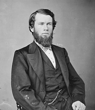 44th United States Congress - President pro tempore Thomas W. Ferry