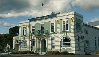 Taihape - Image: Taihape Town Hall