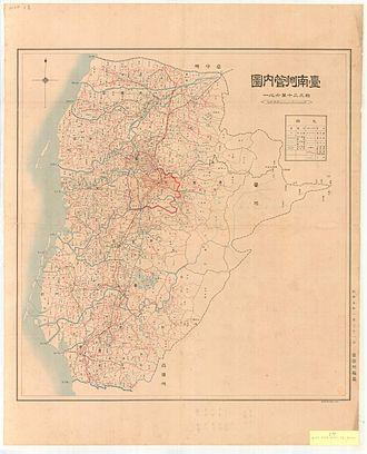 Tainan - Tainan Prefecture