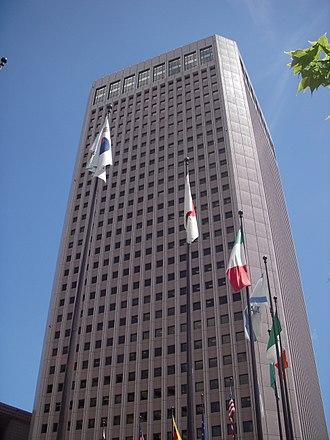 Taiwan External Trade Development Council - TAITRA headquarter office at International Trade Building.