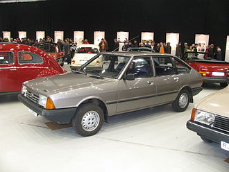 Simca 1307 - Finnish-built Talbot 1510, facelifted version with new headlights