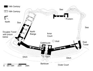 Tantallon Castle Wikipedia The Free Encyclopedia
