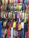 גלילי סרטי בד צבעוניים