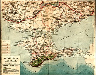Taurida Governorate 1802–1921 governorate of the Russian Empire in Crimea