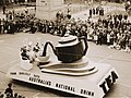 Tea, Australias national drink (float) from Sesquicentenary Manufacturers Parade, Sydney, 1938 (5530892409).jpg
