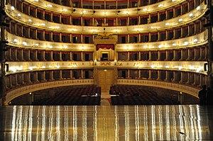 Teatro Comunale Modena - Teatro Comunale di Modena, Auditorium