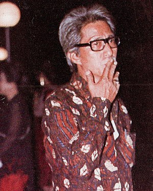 Teguh Karya - Karya at the 1982 Indonesian Film Festival