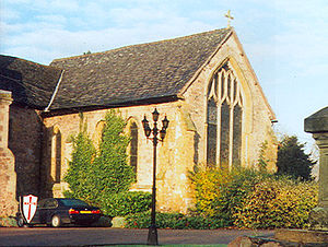 Rothley Temple - The Templar Chapel built c.1240; incorporated into a later building
