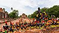 Templo Thammikarat, Ayutthaya, Tailandia, 2013-08-23, DD 05.jpg