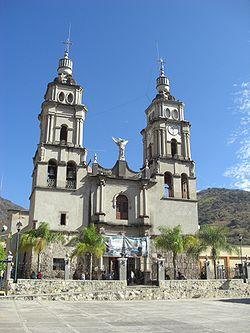 The Church of San Miguel in Ejutla