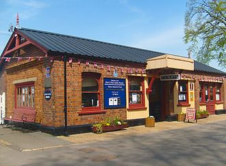 Kent and East Sussex Railway - Tenterden Town Station