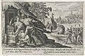 Tereus snijdt de tong van Philomela af Metamorfosen van Ovidius (serietitel), RP-P-OB-15.934.jpg