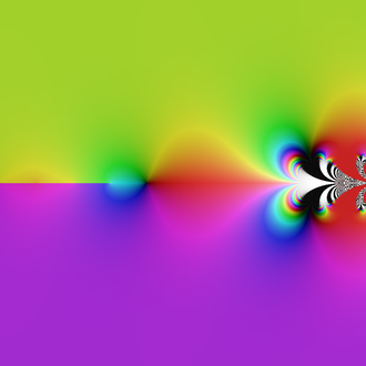 Tetration - Image: Tetration Complex Color